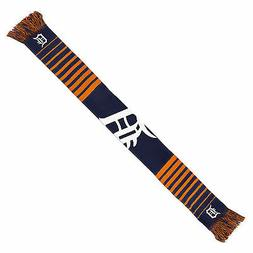 detroit tigers scarf knit winter neck new