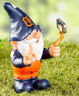 Detroit Tigers Selfie Gnome Baseball Garden Yard Lawn Porch