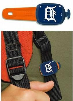 """DETROIT TIGERS - """"STWRAPS"""" - LUGGAGE TAG, BACKPACK TAG, BAG"""