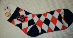 Detroit Tigers Team Ankle Socks Adult Size M  NWT