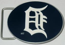 Detroit Tigers Team Logo Belt Buckle  Licensed