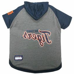 DETROIT TIGERS Tee Hoodie MLB Dog Pet tee shirt