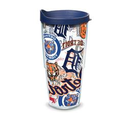 Detroit Tigers Tervis Travel Tumbler 24 ounce