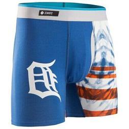 Detroit Tigers Stance Tie-Dye Underwear - Navy
