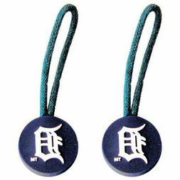 Detroit Tigers Aminco Travel Navy & White Luggage ID-Zipper