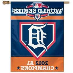 Detroit Tigers Vertical Outdoor House Flag