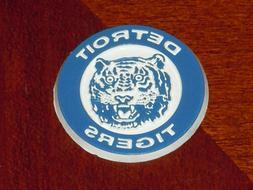 DETROIT TIGERS Vintage Old MLB RUBBER Baseball FRIDGE MAGNET