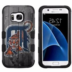 Detroit Tigers #W Impact Hard+Rubber Hybrid Case for Samsung