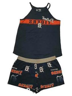 Detroit Tigers Concepts Sport WOMEN'S Tank Top & Shorts Slee