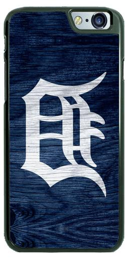 Detroit Tigers Wooden Baseball Design Phone Case Cover for i