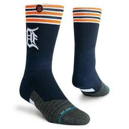 Stance Detroit Tigers Youth Stripe Diamond Pro Crew Socks