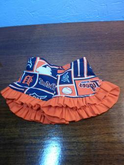 DOLL Shorts 18 inch Homemade Detroit TIGERS baseball ruffle