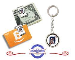 FREE DESIGN > DETROIT TIGERS - Money/Gift Card Clip or Keyri