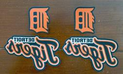Iron On or Sew On Transfer Applique Detroit Tigers Cotton Fa