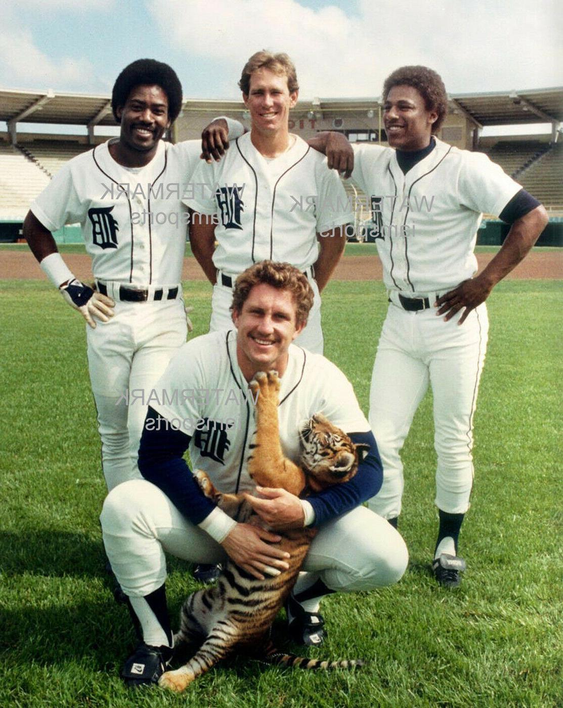 1984 detroit tigers lance parrish alan trammell