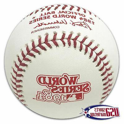 1984 world series official mlb game baseball
