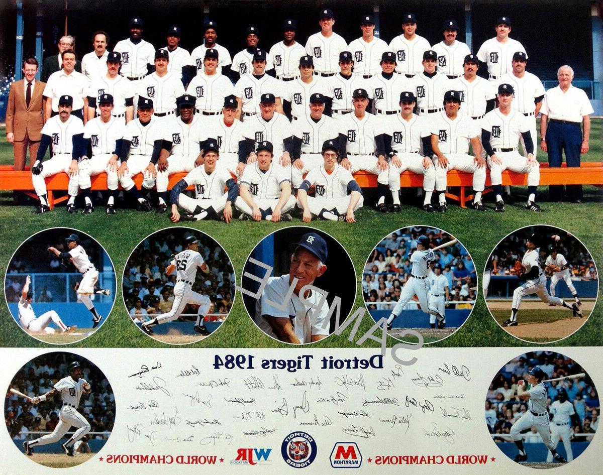 1984 world series world champions detroit tigers