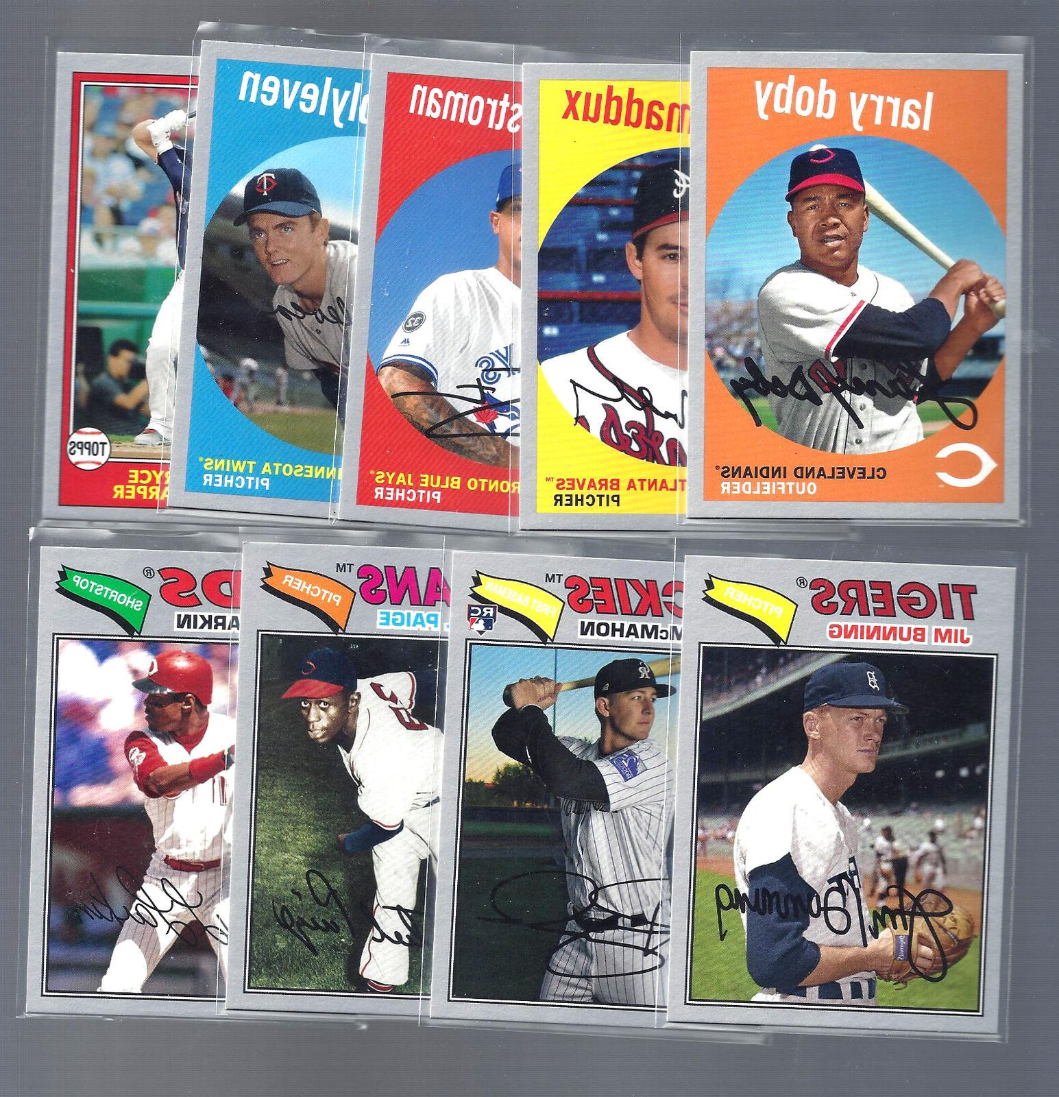 2018 topps archives silver parallel singles complete
