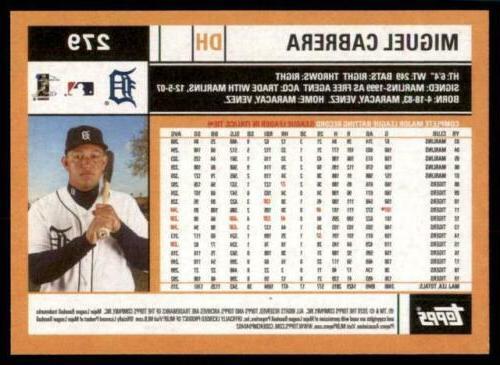 2020 Miguel Cabrera Tigers