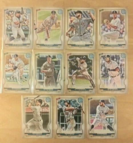 2020 topps gypsy queen detroit tigers base