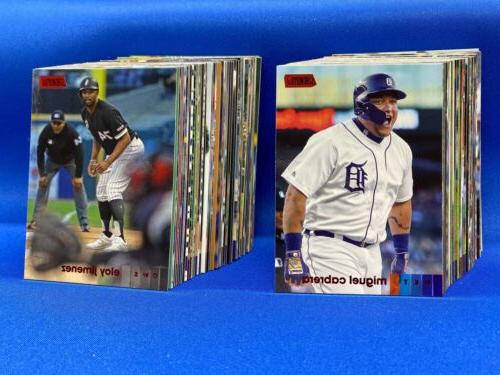 2020 topps stadium club red foil parallel