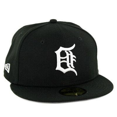 59fifty detroit tigers custom fitted hat black