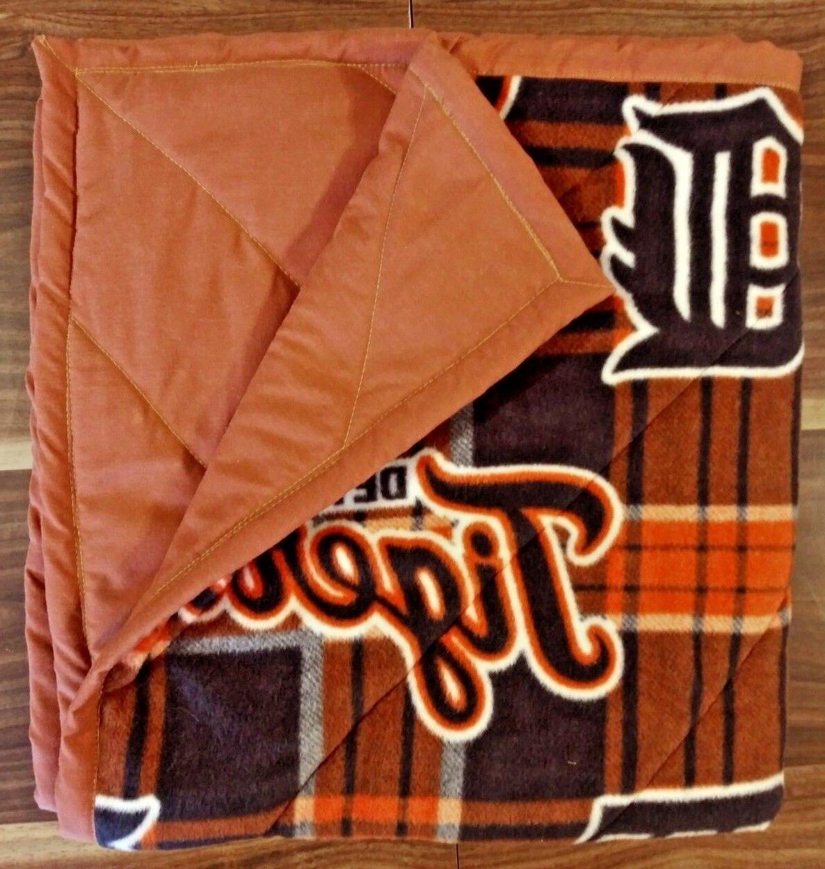 babys first detroit tigers blanket fleece detroit