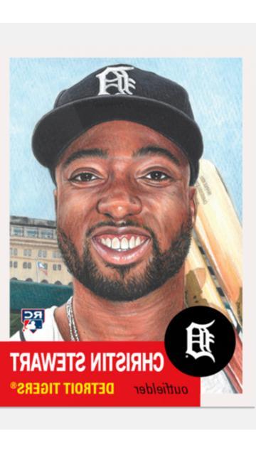 baseball living set rookie card detroit tigers