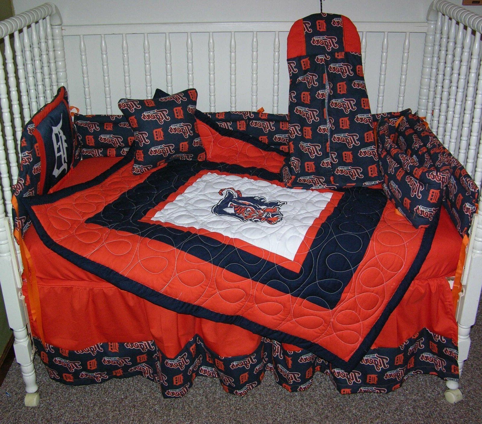 crib nursery bedding set made w detroit