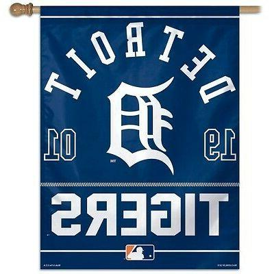 detroit tigers 1 official mlb 27x37 outdoor