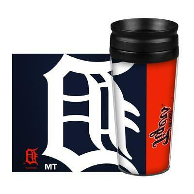 detroit tigers 14oz full wrap travel mug