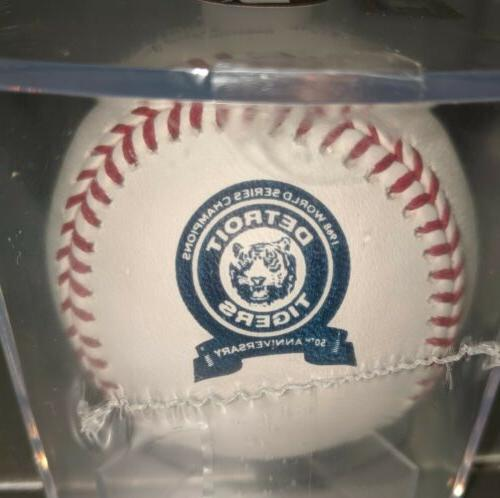 detroit tigers 1968 50th anniversary baseball as