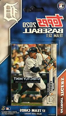 Detroit Tigers 2020 Topps Factory Sealed Team Set Miguel Cab