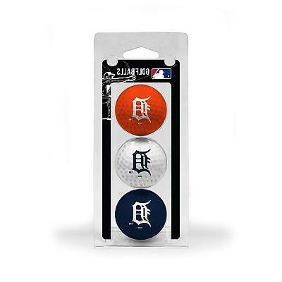 detroit tigers 3 pack of golf balls