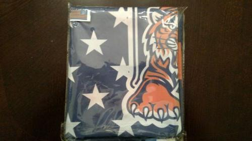 Detroit Tigers 3x5 American Flag. US Seller. shipping within