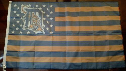 Detroit American Flag. US Free shipping within