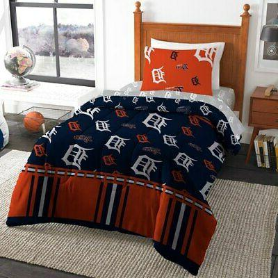 detroit tigers 4 piece twin bed in