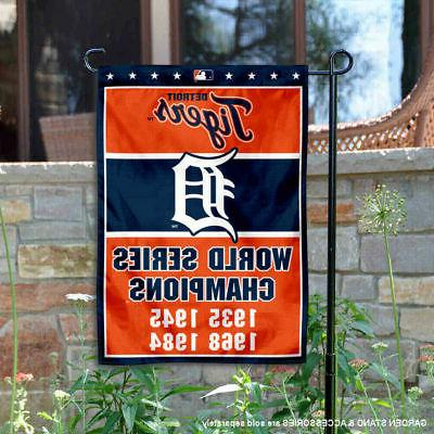 detroit tigers 4 time world champions garden