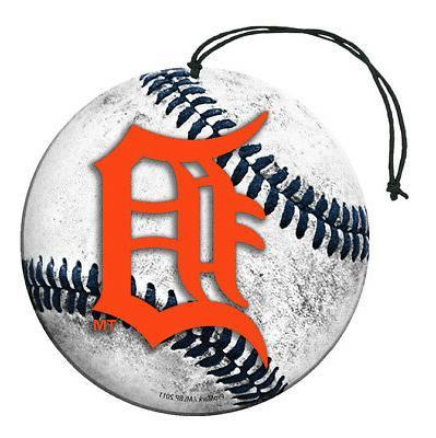 detroit tigers baseball air freshener vanilla scent