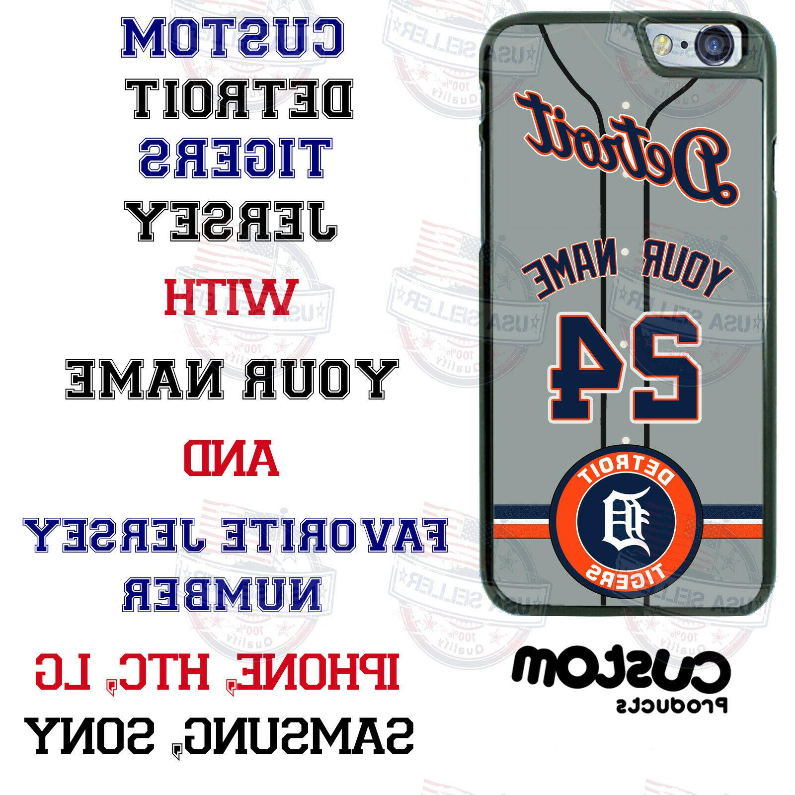 detroit tigers baseball customized phone case cover