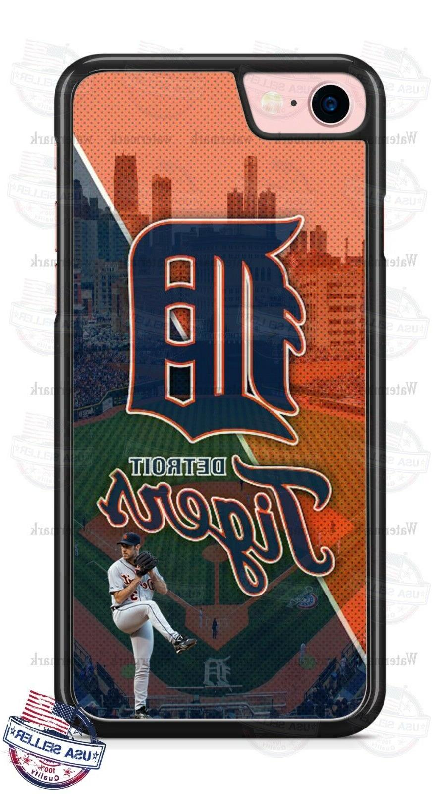 detroit tigers baseball stadium design phone case