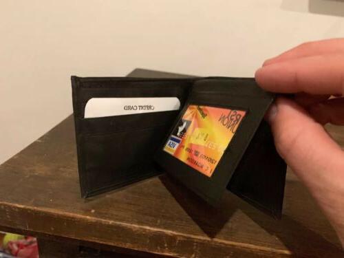 Detroit Leather Wallet Case.