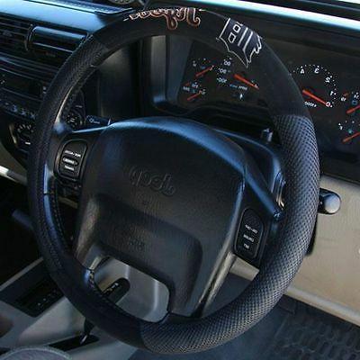 detroit tigers black mesh car auto steering