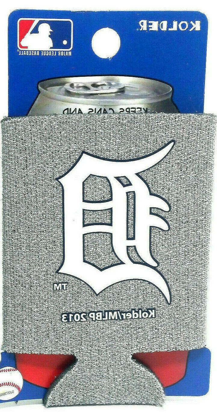 detroit tigers can cooler collapsible bottle holder