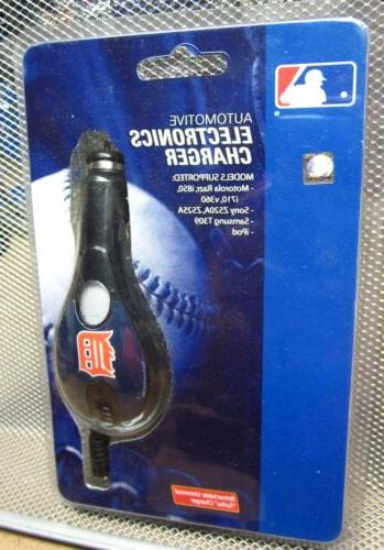 detroit tigers car adaptor new electronics charger