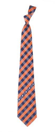 Detroit Tigers Check Poly Necktie