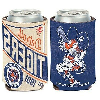 detroit tigers cooperstown collection neoprene can bottle