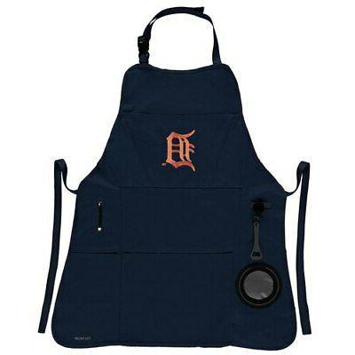 detroit tigers four pocket apron