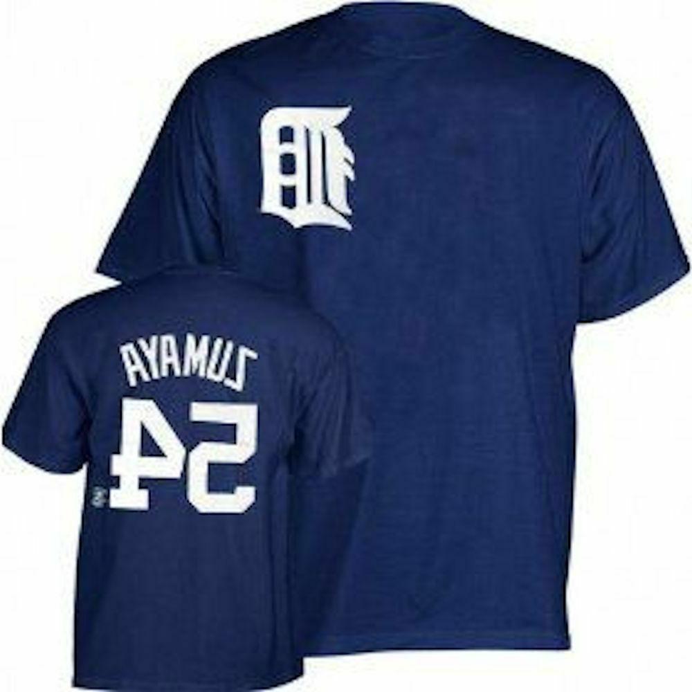 Detroit Tigers Joel Zumaya Majestic T Shirt new with tags Cl