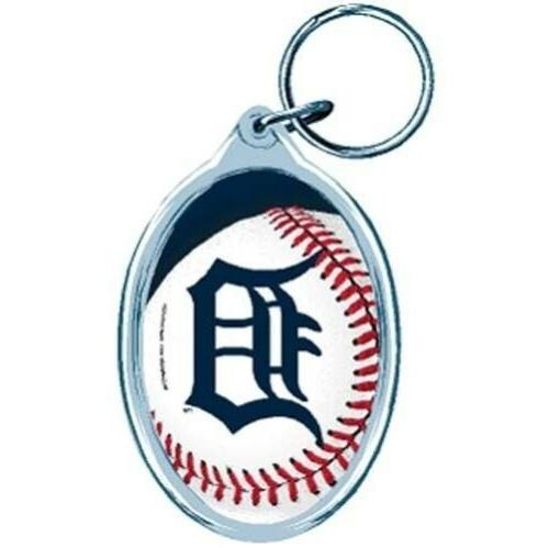 detroit tigers keyring keychain
